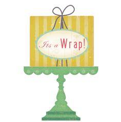 It's a wrap 2