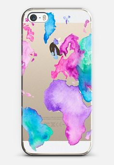 world map case