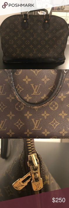 Louis Vuitton Alma bag Louis Vuitton Alma bag with visible wear. Authentic with number in picture (V10943). Louis Vuitton Bags Satchels