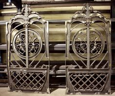 Our flagship gate Aphrodite - pedestrian and main gates. #WroughtIron #Iron #DrivewayGates #Metal #EstateGates #Drive #Garden #Bespoke #Custom #Designer #Modern #Vintage #Contemporary #Entrance #Sliding #Architecture #Privacy #Entry #Victorian #Outdoor #Traditional #Gates #IronWork #home #Security