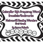 Caterpillar Sight Word Bracelets/Bookmarks-McGraw Hill Reading Wonders 1st Grade