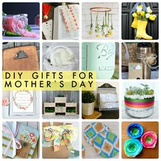 DIY Gifts for Mother's Day!! So many great ideas! -- Tatertots and Jello