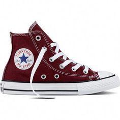 21a14b940577 Converse Youth Chuck Taylor All-Star Hi Shoes (Maroon
