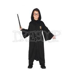 Disfraz Aprendiz de Mago Capucha para niño - Dresoop.es