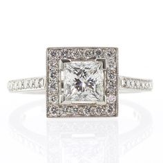 10 Princess-cut Engagement Rings