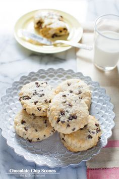 Chocolate Chip Scones from @TheLittleKitchn