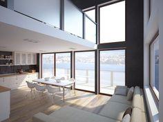 Interior Design in minimalist Nordic Style