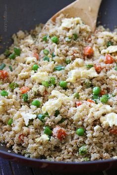 "Cauliflower ""Fried Rice"" 
