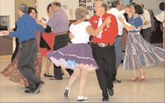 Square dancing...my mom and dad were regular square dancers... They taught us in PE too.
