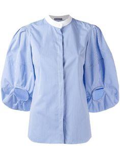 Alexander McQueen balloon sleeve blouse