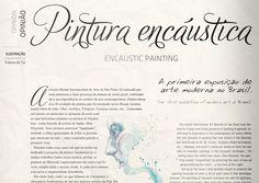 Revista MuBE Review by Camila Janaina, via Behance