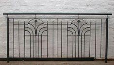 Französischer Balkon mit klassischem Element, lackiert, Preis per laufenden Meter