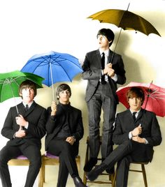 For Beatles fans everywhere, this is a collection of Beatles pictures. First there are pictures of the Beatles as a group. Then browse Beatles pictures of John Lennon, Paul McCartney pictures, and pictures of George Harrison and Ringo Starr. Ringo Starr, George Harrison, John Lennon, Red Umbrella, Under My Umbrella, Liverpool, Great Bands, Cool Bands, Stuart Sutcliffe
