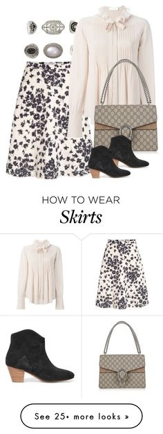 """""""Untitled #2344"""" by erinforde on Polyvore featuring Topshop, Chloé, Gucci, Isabel Marant, women's clothing, women, female, woman, misses and juniors"""