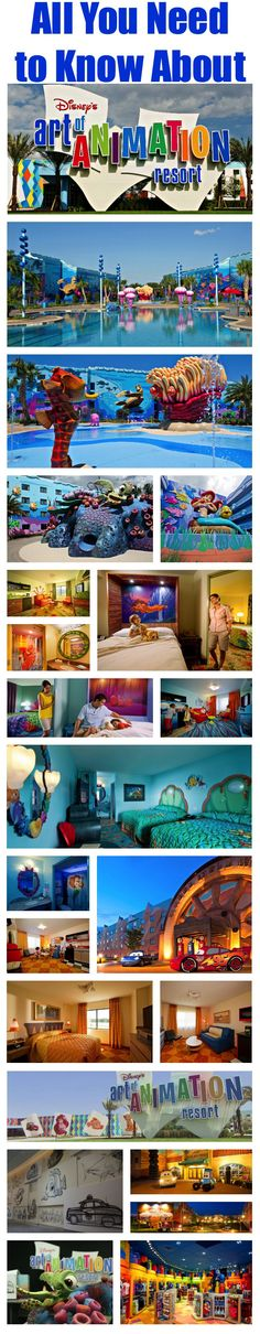 """Disney's Art of Animation Resort - May The Finding Nemo suite was nice but we don't really need all that space and Caribbean Beach was definitely more relaxing. Still knocked another one off my """"try every Disney resort"""" list though! Disney World Planning, Disney World Vacation, Disney World Resorts, Disney Vacations, Disney Travel, Florida Vacation, Disney World Tips And Tricks, Disney Tips, Disney Love"""