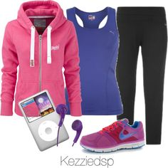 """""""Running"""" by kezziedsp on Polyvore"""