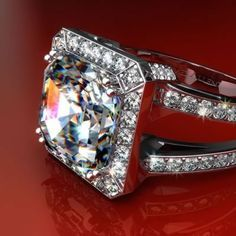 How could you not be noticed is something this bright and vibrant! Gorgeous ring. http://www.charleskoll.com/product-category/rings/engagement/