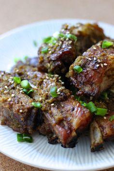 Korean BBQ Pork Spare Ribs
