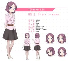 """Crunchyroll - """"New Game!"""" Anime Character Designs Previewed"""