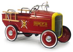1932 Ford Roadster Pedal Fire Truck