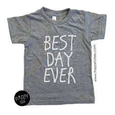 best day ever shirt, birthday shirts, boys birthday shirts, girls birthday shirts, unisex birthday shirts, hipster kids, birthday outfits by PartyTees on Etsy https://www.etsy.com/listing/293385331/best-day-ever-shirt-birthday-shirts-boys