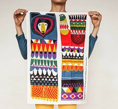 Upcoming design 'Kukkuluuruu' by Sanna Annukka for Marimekko. I'm going to lose money to Marimekko this summer. Marimekko, Textile Patterns, Print Patterns, Floral Patterns, Zentangle, Stoff Design, Plakat Design, Pattern Illustration, Surface Pattern Design