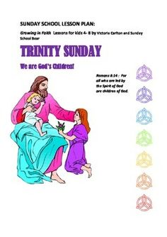 This is a very comprehensive lesson with full teaching notes, all worksheets, song charts, fruits of Holy Spirit, colouring sheet etc provided. It addresses the mystery of the Holy Trinity as well as providing follow-up to Pentecost by looking in more detail at gifts we are given by God and ways we can develop the 9 gifts from the Holy Spirit.You also have a PARENT FEEDBACK sheet to help parents understand what was taught and how to follow up the teaching in their homes.ENJOY!