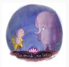 no mud no lotus