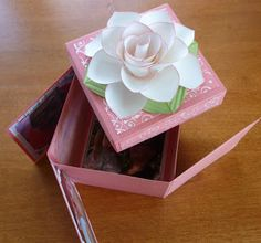 Papercrafts Love Affair: Another Scrapbook in a box