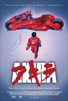 """Akira"" > 2015 > Directed by: Katsuhiro Otomo > Animation/ Action / Sci-Fi / Anime Akira Poster, Dm Poster, Movie Poster Art, Poster Prints, Film D'animation, Film Movie, Me Anime, Manga Anime, Anime Dvd"