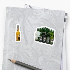 drinks 'Corona Drink Virus ' Sticker by Unbeatable Apparel Beer Corona, Corona Logo, Corona Drink, Corona Tattoo, Corona Vector, Corona Real, The Borrowers, Stickers, Christmas Wreaths