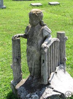 about graves, gravestones, and graveyards Cemetery Monuments, Cemetery Statues, Cemetery Headstones, Old Cemeteries, Cemetery Art, Graveyards, Angel Statues, Unusual Headstones, Gardens Of Stone