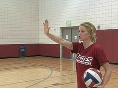 Aggie Academy - Volleyball Serves - YouTube