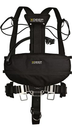 xDEEP - Side Mount Stealth 2.0 - full set; Side Mount Harness with Buoyancy Compensator http://www.protecplaya.com