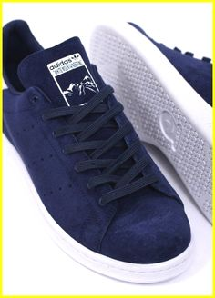 5f580dfef393 Adidas Originals Footwear x White Mountaineering Stan Smith Trainers - Dark  Blue