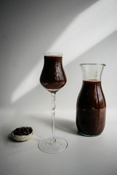 Learn How to easily and quickly make a delicious flavored Vodka that's infused with dark Chocolate!