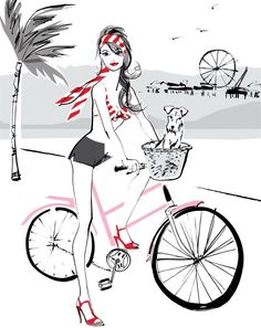 Jacqueline Bissett is a fashion Illustrator whose work fits within publishing, advertising and editorial