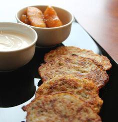 Potato Latkes from @Mandy Bryant Dewey Seasons Hotel Prague (Praha) are a Hanukkah comfort food classic. Click through for the recipe.