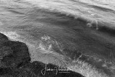 Black/White - Long exposure sea spain