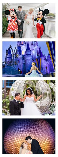 Are you someone who loves Disney and just got engaged? See tons of Disney weddings, vow renewals, engagement photos, and proposals in the parks all in one gallery!