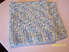 Crochet Baby Blanket  26 X 26 by kayandgirlscrafts on Etsy, $20.00