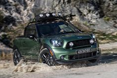The Mini Paceman bakkie is here