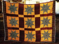 HUNTER QUILT...........PC Hunters Star Quilt, American Interior, Civil Rights Movement, Traditional Quilts, African American Women, Quilting Designs, Confused, Alabama, Renaissance