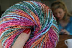 Fil à tricoter en pelote de 100 g d'#Adriafil : #newzealand