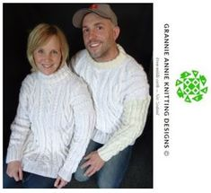 His and Hers Jumpers knitting pattern