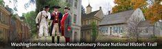 Washington-Rochambeau National Historic Trail NJ,PA,MA,VA