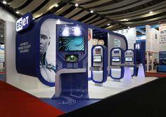 Presentations International Ltd - display booth Exhibition Booth Design, Exhibition Stands, Exhibit Design, Stage Design, One Design, Stand Feria, Modular Walls, Cinema 4d, Trade Show