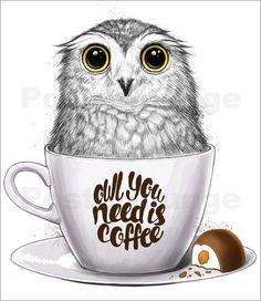 Nikita Korenkov - Owl you need is coffee