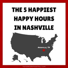 "Howdy, friends!  This week, I'm continuing my ""Nashville Like a Local Y'all"" series with some serious business.  (Very serious.)  It's all about Happy Hours in Music City :)  Check out which …"