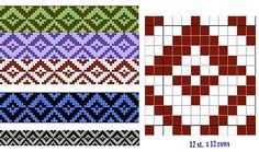Ravelry: somes First in 2013 Tapestry Crochet Patterns, Knitting Paterns, Knitting Charts, Knitting Stitches, Knitting Designs, Loom Beading, Beading Patterns, Norwegian Knitting, Inkle Weaving